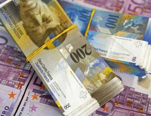 Ngân hàng HSBC Việt Nam có chức năng chuyển đổi tiền Franc của Thụy Sĩ.