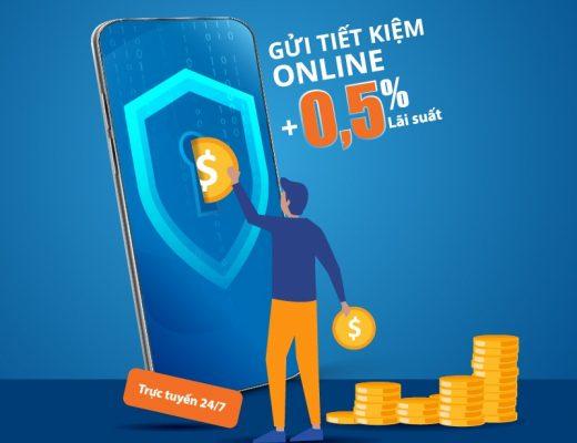 Bạn chỉ cần thực hiện những thao tác đơn giản thông qua Internet Banking