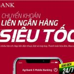 Agribank E-Mobile Banking giao dịch 24/7