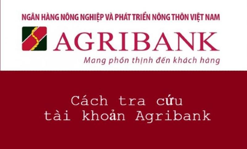 Tra cứu thông tin tài khoản Agribank