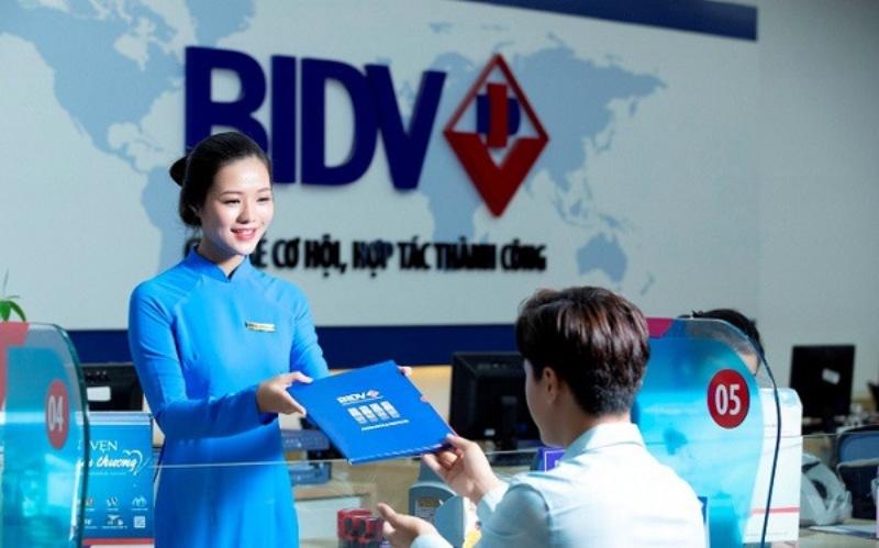 Bạn chỉ cần đến những chi nhánh của ngân hàng BIDV để thực hiện giao dịch