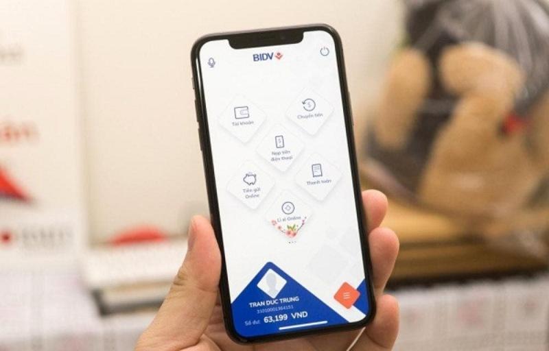 Chuyển tiền qua BIDV Smart Banking