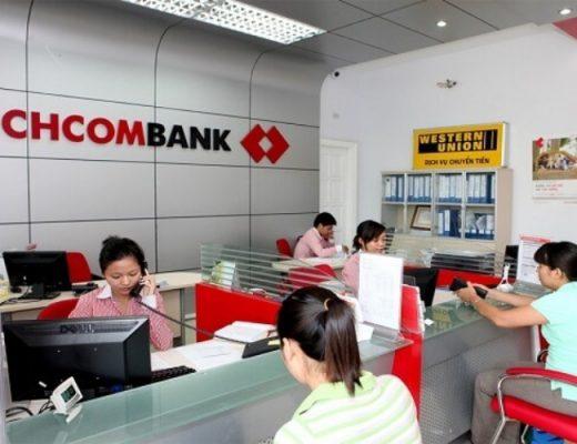 Chuyển tiền tại quầy giao dịch/chi nhánh của Techcombank