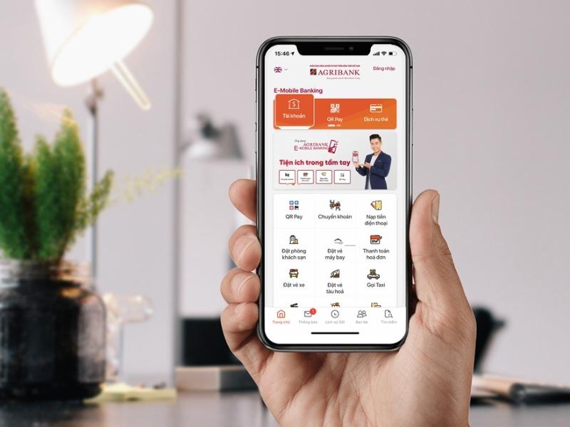 Kiểm tra tài khoản Agribank thông qua Mobile Banking