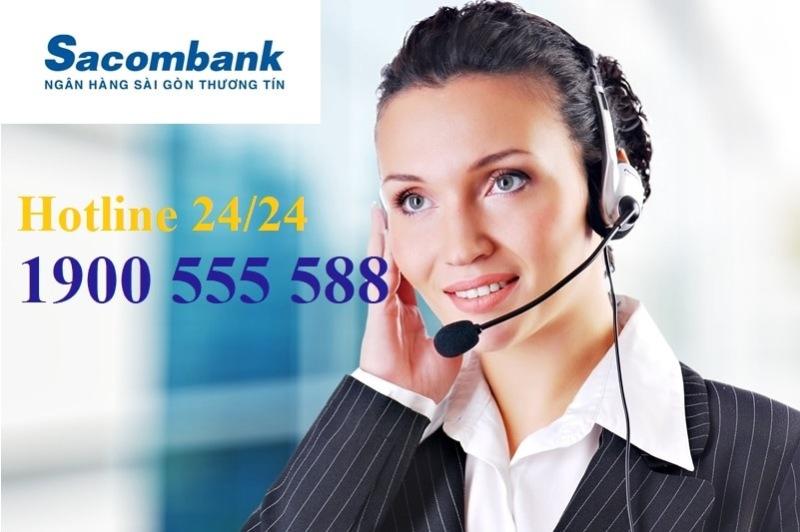 Kiểm tra tài khoản ngân hàng Sacombank bằng cách gọi tổng đài