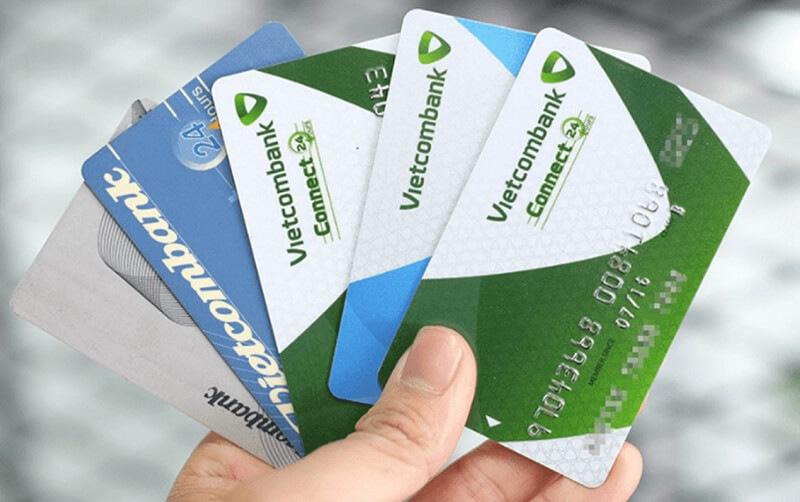 Một số loại thẻ của Vietcombank