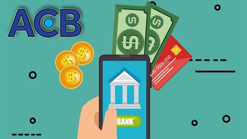 Phí quản lý tài khoản ACB gồm những khoản phí duy trì sử dụng dịch vụ