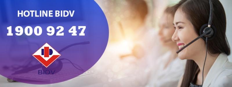 Số hotline CSKH của BIDV