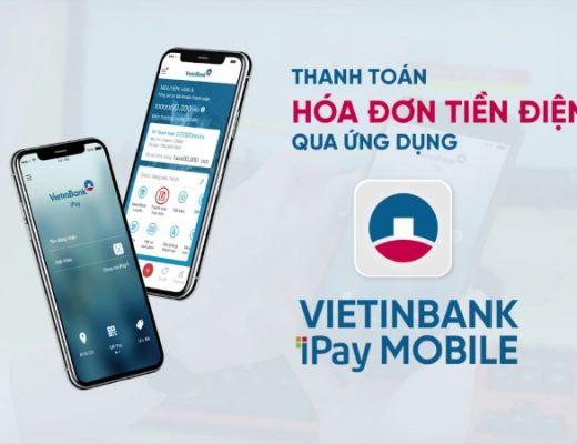 Đóng tiền điện thông qua iPay Vietinbank