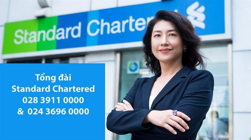 Hotline của ngân hàng Standard Chartered