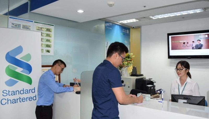 Standard Chartered Bank đã có tới 4 chi nhánh ở Việt Nam