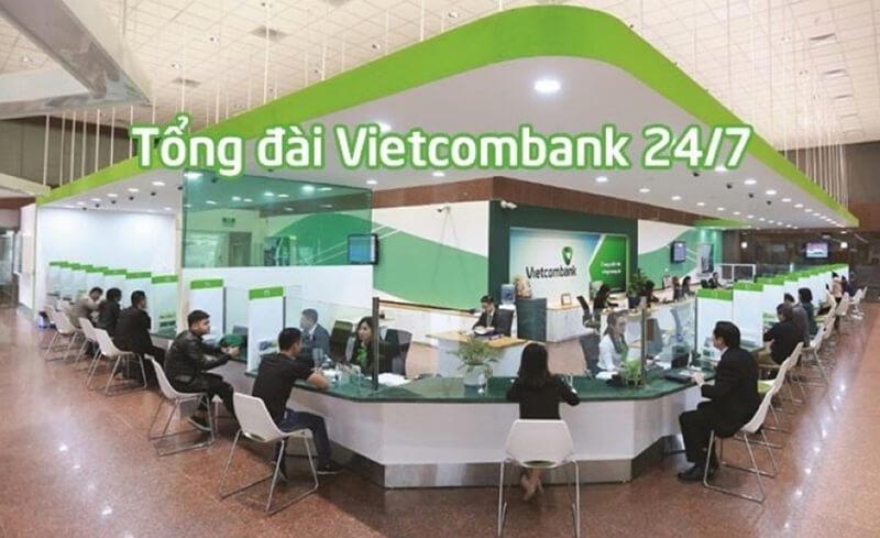 Tổng đài Vietcombank 24/7