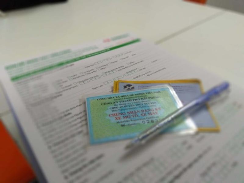 Vay thế chấp giấy tờ xe máy rất đơn giản, bạn chỉ cần chuẩn bị các giấy tờ