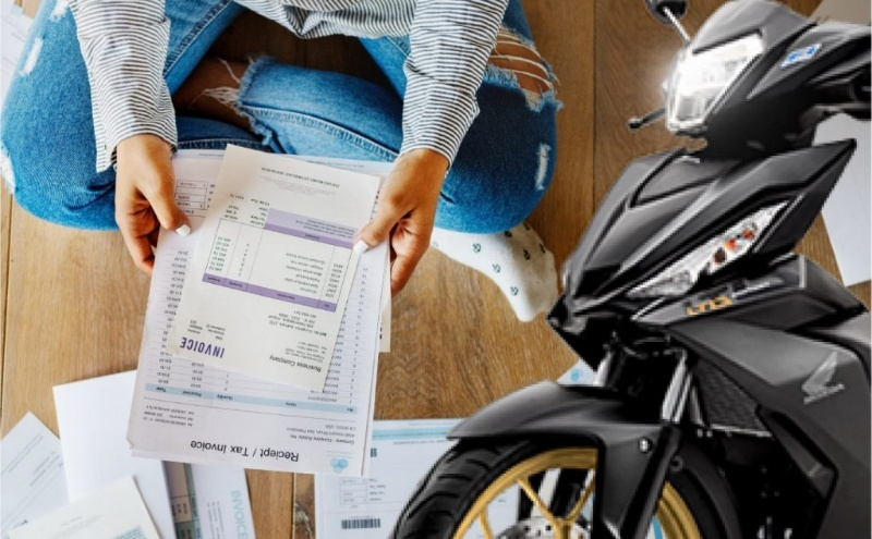 Có nên vay thế chấp xe máy, cầm cố giấy tờ xe không?