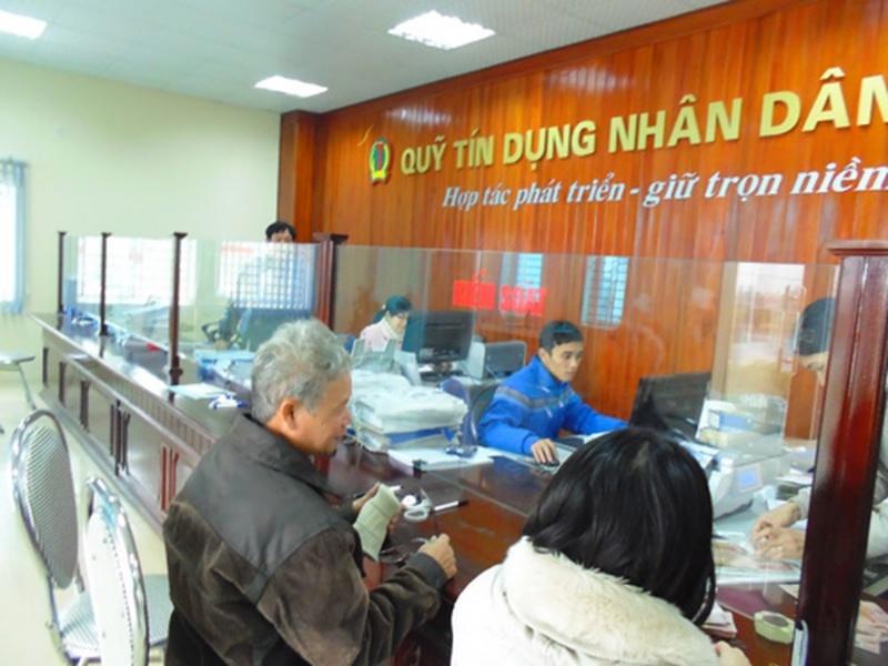 Vay vốn tại quỹ tín dụng nhân dân tại địa phương