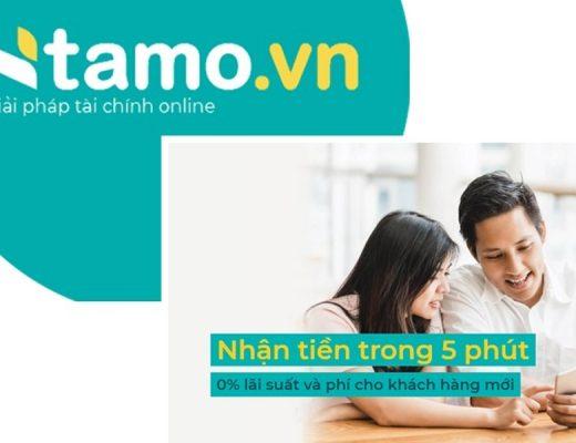 Tamo-giải pháp tài chính online tối ưu cho toàn thể khách hàng