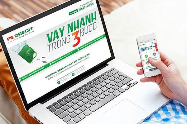 Cách đăng ký vay FE Credit online