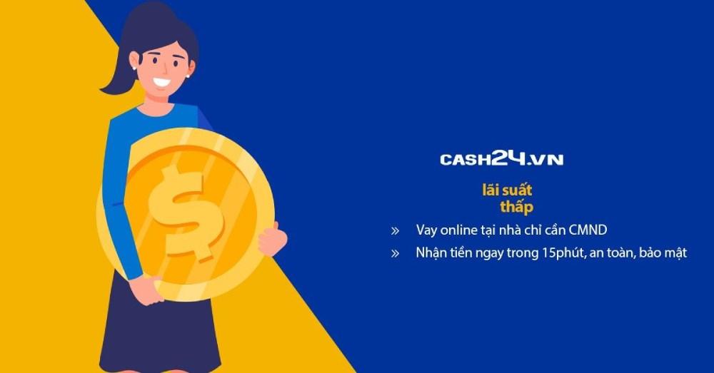Những ưu điểm khi vay tiền tại Cash24