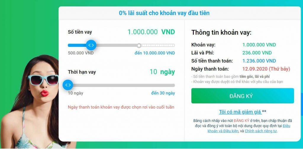 Hình thức vay tiền trực tuyến tại ứng dụng OnCredit hiện nay khá đơn giản