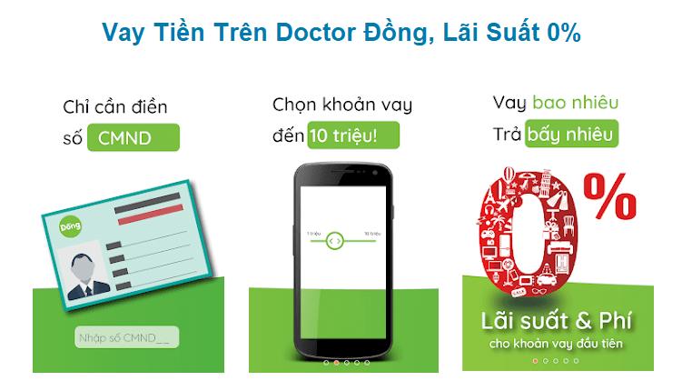 Điều kiện vay đơn giản tại Doctor Đồng