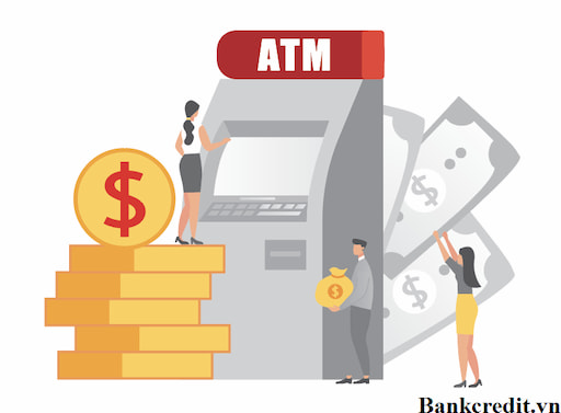 Hướng dẫn rút tiền thẻ vay