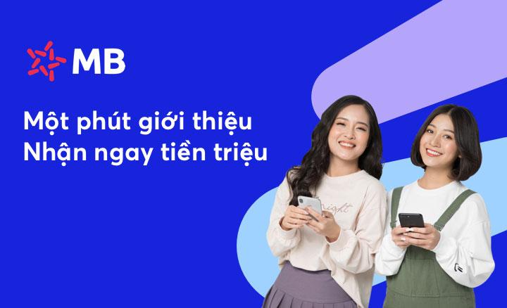 Giới thiệu app cho bạn bè để được nhận thêm tiền thưởng