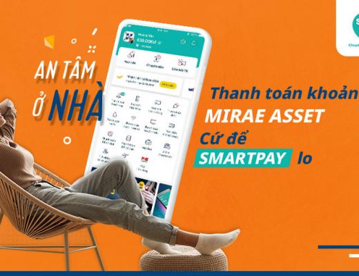 Ví SmartPay- cung cấp giải pháp thanh toán tối ưu cho khách hàng