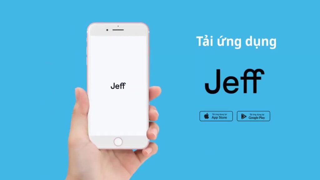 Các bước đăng ký vay tiền tại Jeff App