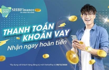Cách thanh toán khoản vay tại SHB Finance