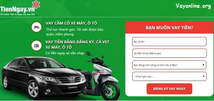 Hướng dẫn đăng ký vay nhanh tại Tienngay