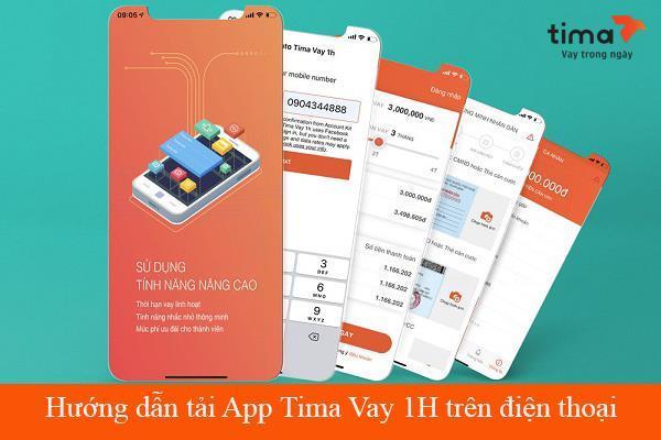 Hướng dẫn đăng ký vay tiền Tima nhanh qua app