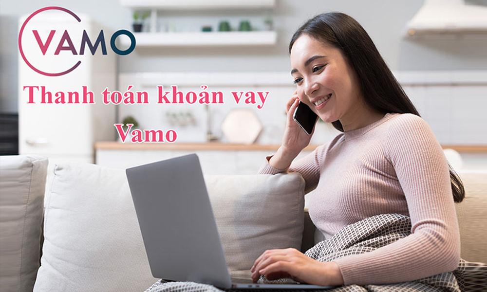 Cách thanh toán khoản vay tại Vamo